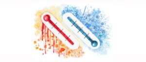 antennas temperature range